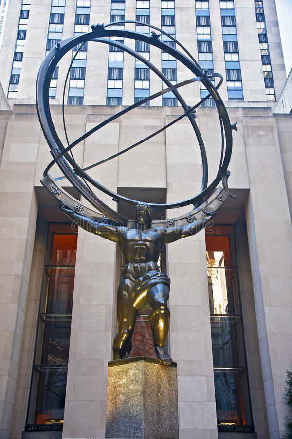 Download Atlas Statue Editorial Stock Photo - Image: 18529748