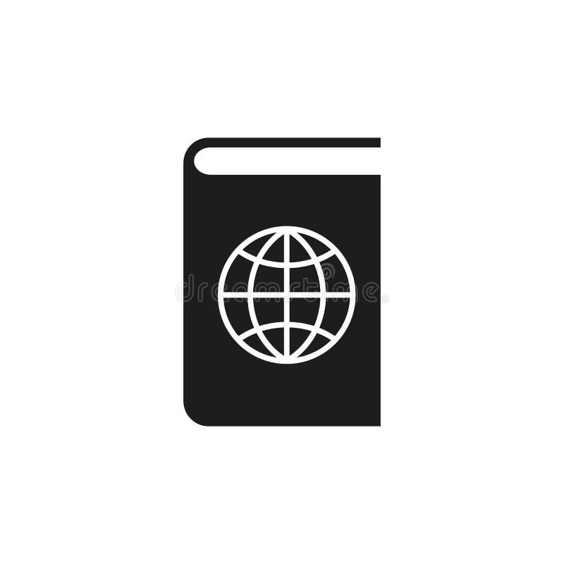 Atlas- und Kugelikone ENV 10 Geografiesymbol web graphik jpg ai app zeichen nachricht flach bild zeichen ENV vektor abbildung