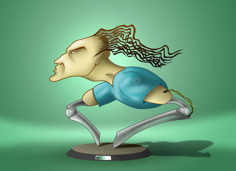 Atleta libre illustration