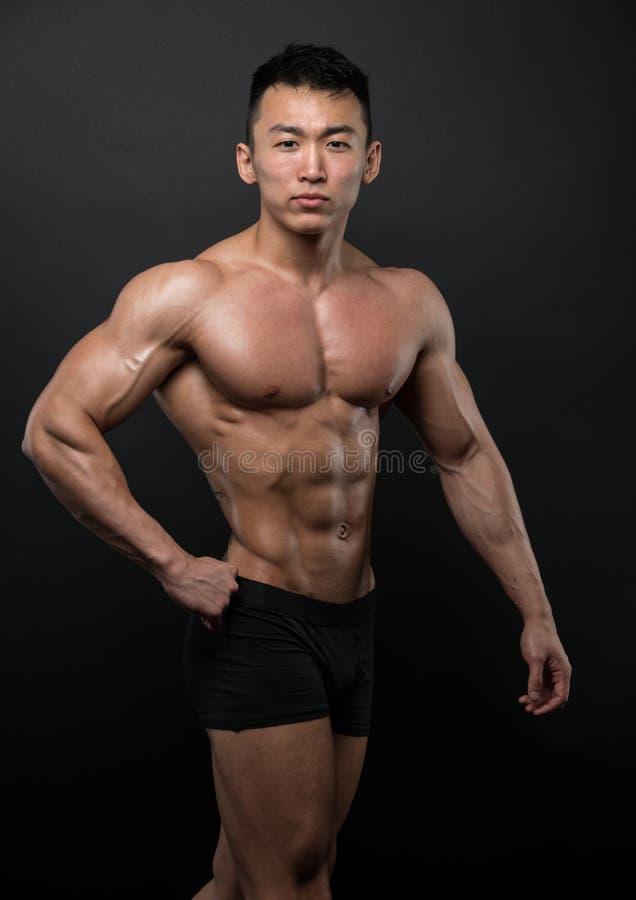 Atleta coreano fotografía de archivo libre de regalías