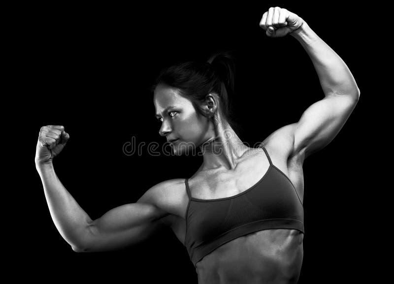 Atleta fêmea fotos de stock