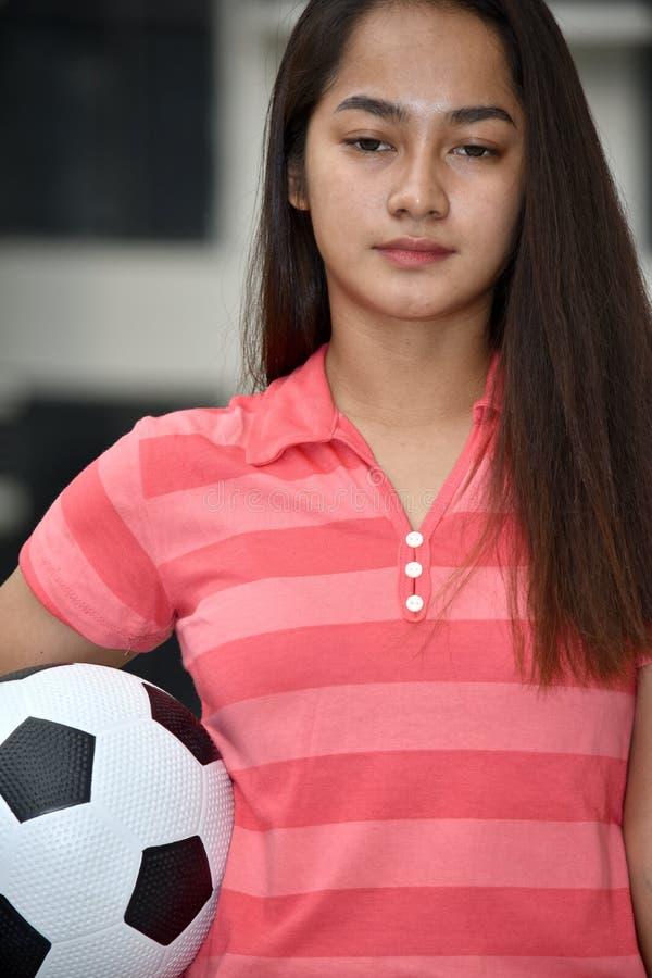 Atleta fêmea asiático And Sadness fotos de stock royalty free