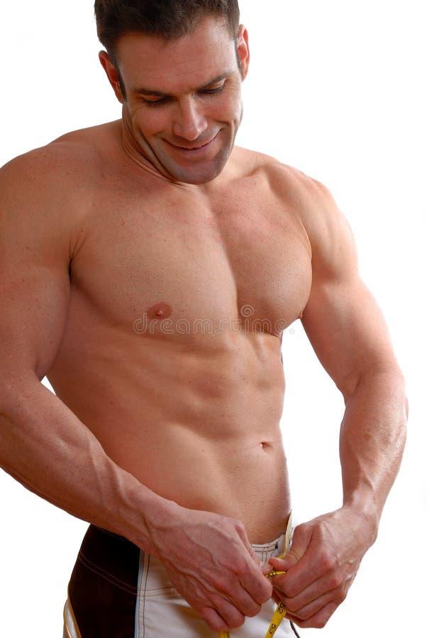 Atleta felice immagine stock