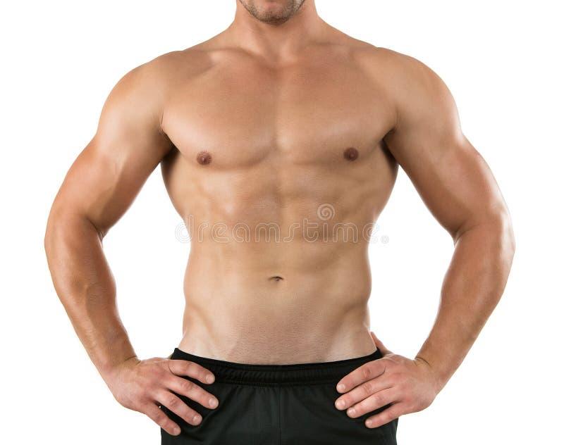 Atleta joven sano foto de archivo
