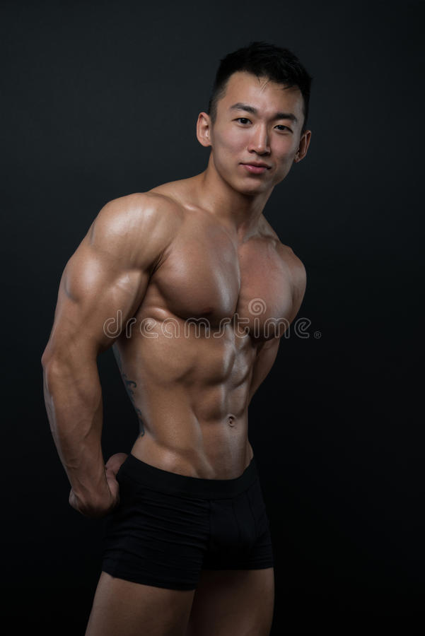 atleta koreańczyk obraz royalty free