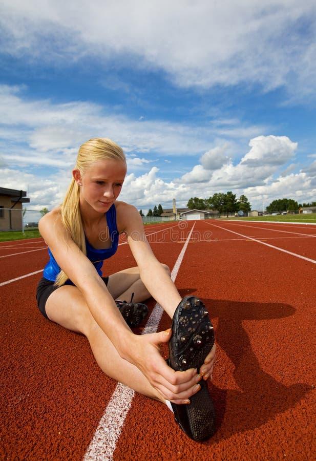 atleta nastoletnia obrazy stock