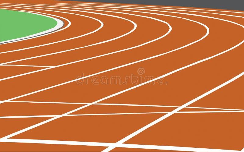 Atletica leggera illustrazione vettoriale