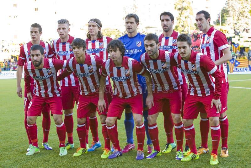 Atletico De Madrid stockfoto