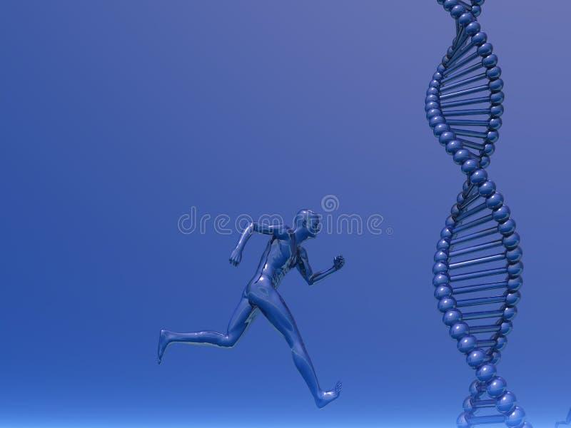Atletiek vector illustratie