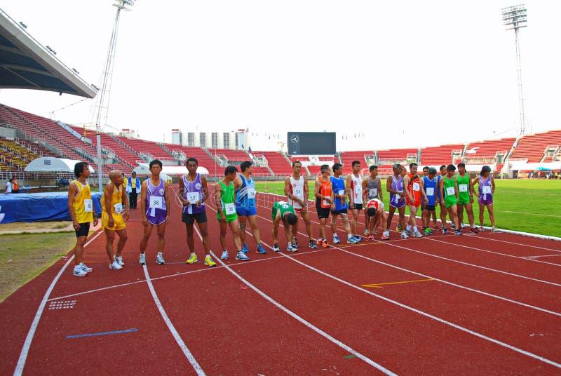 Atletieksport stock afbeelding