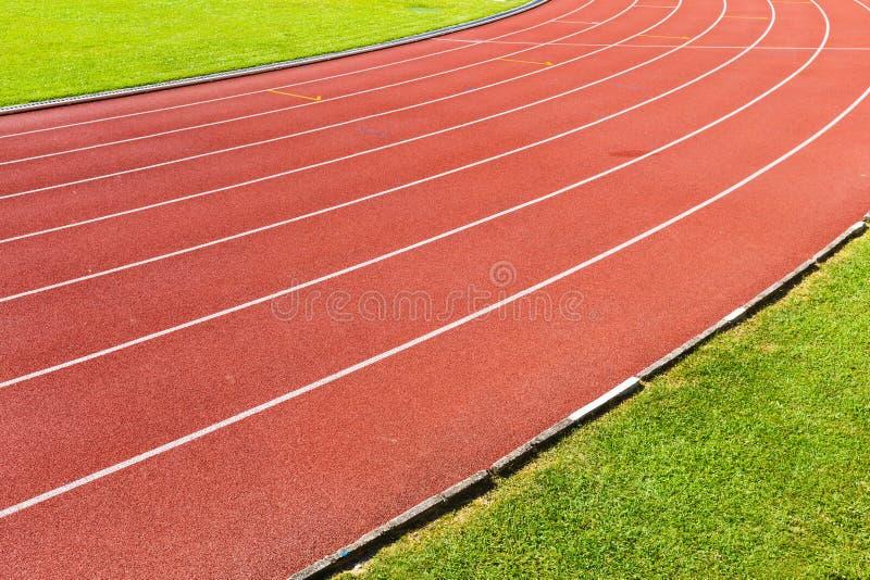 Atletisch spoor royalty-vrije stock foto