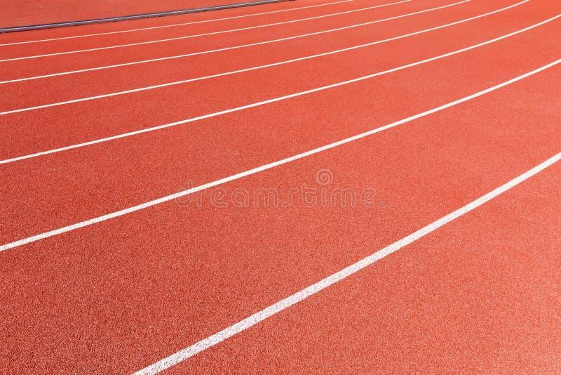 Atletisch spoor royalty-vrije stock afbeelding