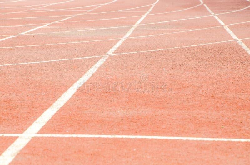 Atletisch spoor stock foto's