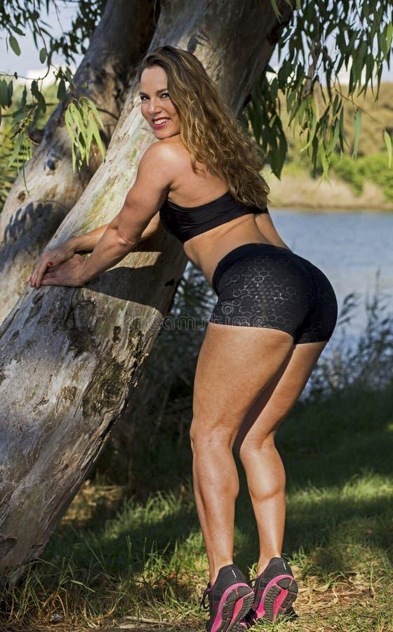 Atletische Israëlische Schoonheid royalty-vrije stock fotografie