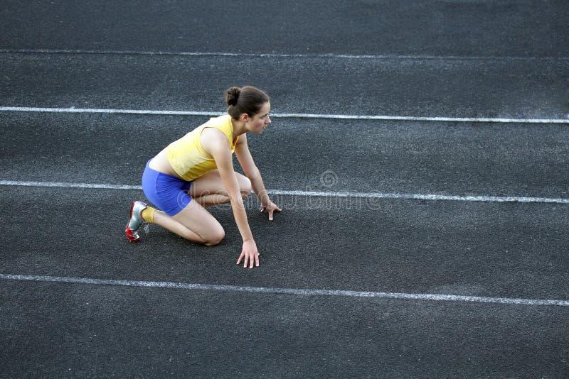 Atletische tiener stock afbeelding