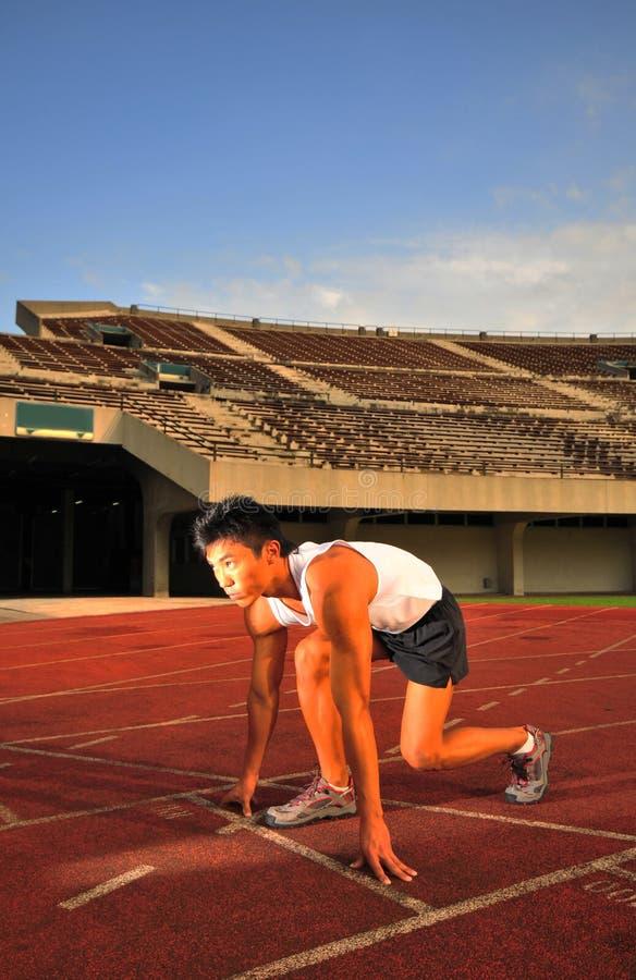 Atletismo 17 fotografía de archivo libre de regalías