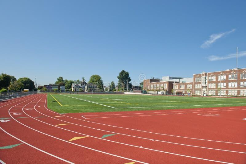 Atletismo da High School imagens de stock