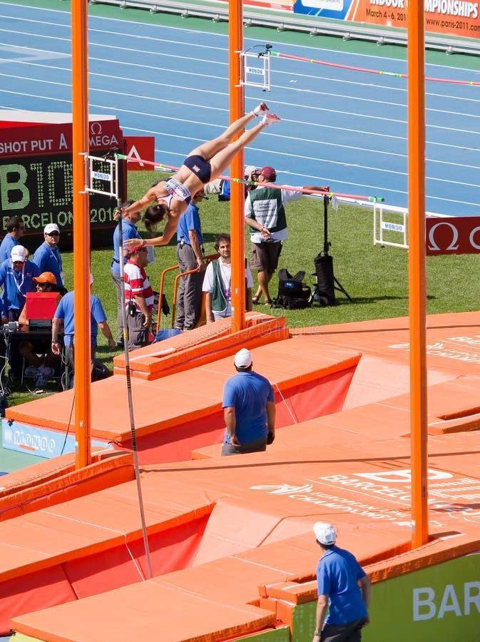 Atletismo della volta di palo fotografia stock libera da diritti