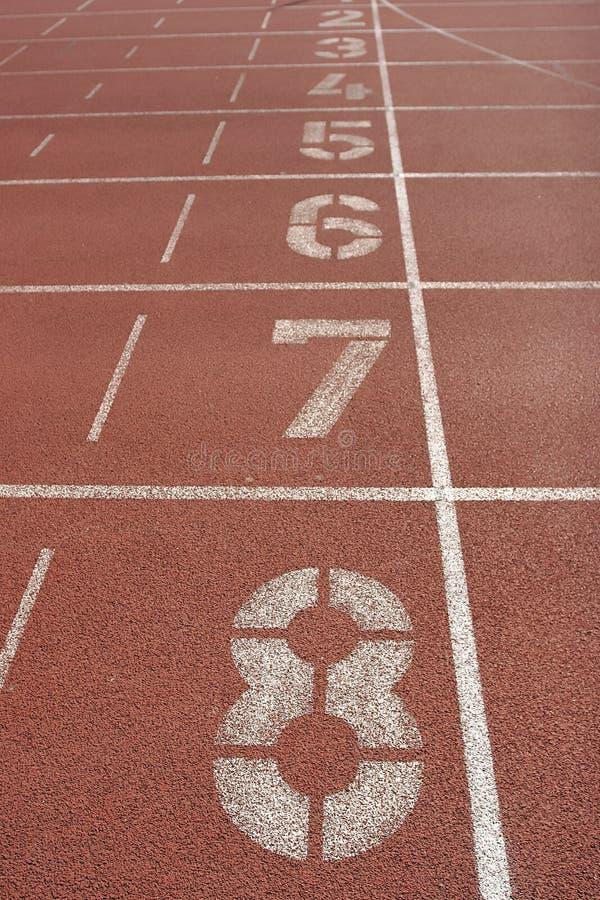 atletyki pole zdjęcia stock