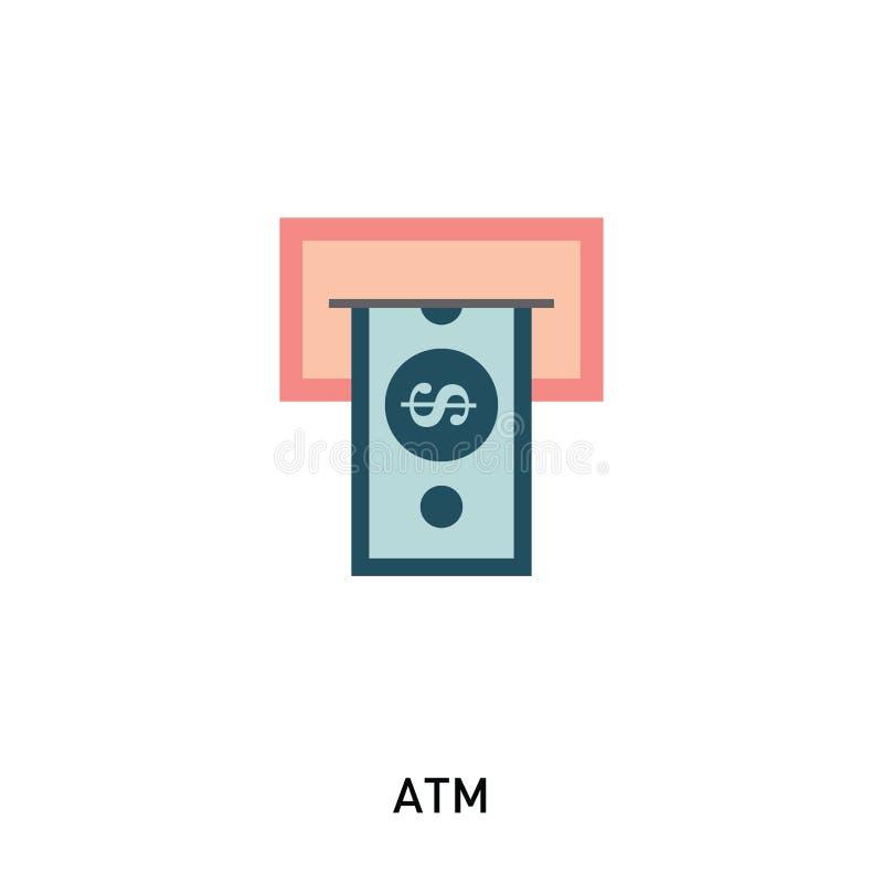 ATM现金象 皇族释放例证