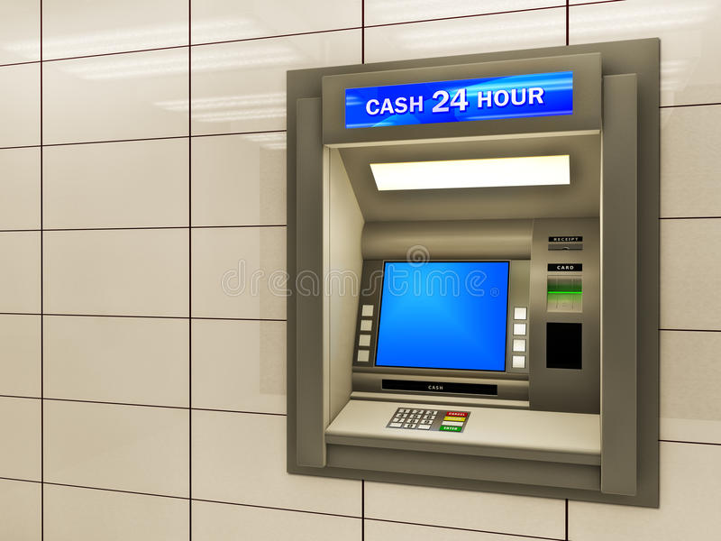 ATM διανυσματική απεικόνιση