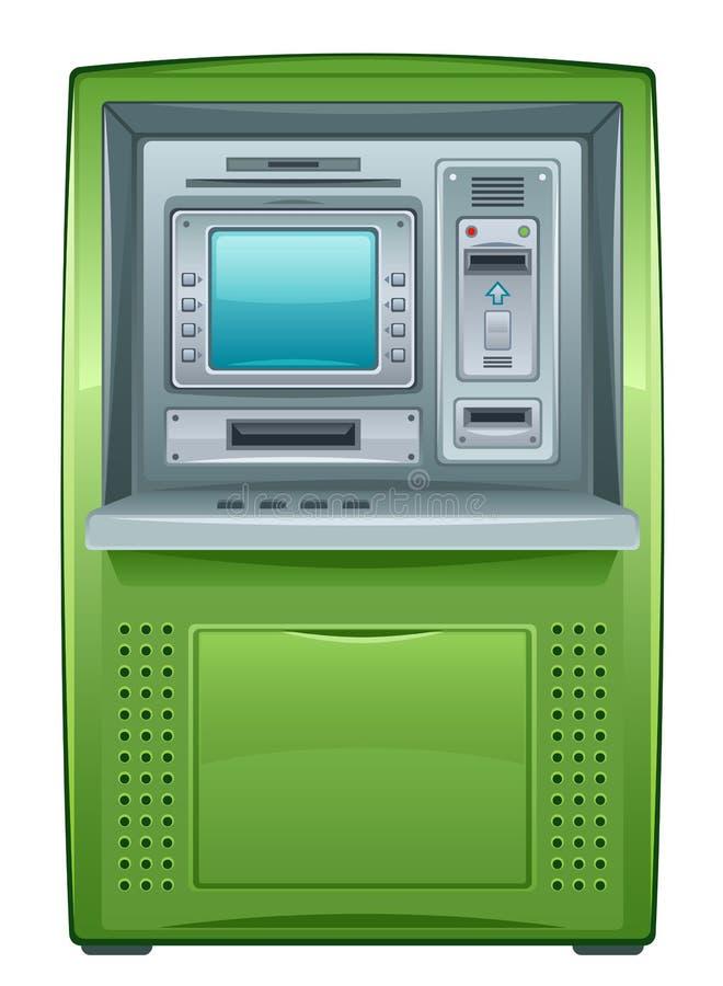 ATM ελεύθερη απεικόνιση δικαιώματος