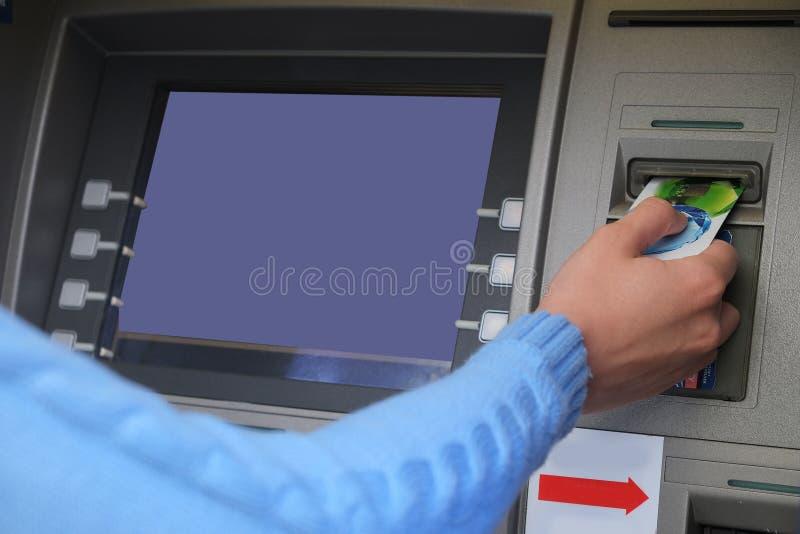 ATM lizenzfreies stockbild