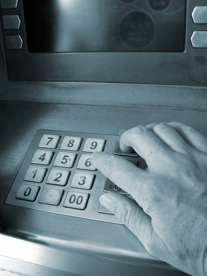 ATM Access royalty free stock image