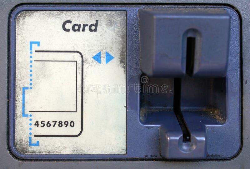 ATM Card Swipe Stock Image