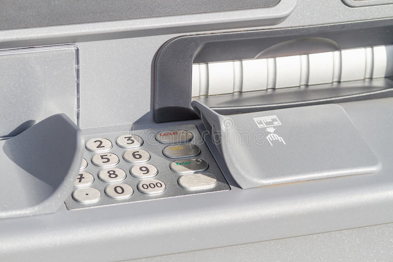 Download ATM cash machine stock photo. Image of horizontal, nobody - 27238834