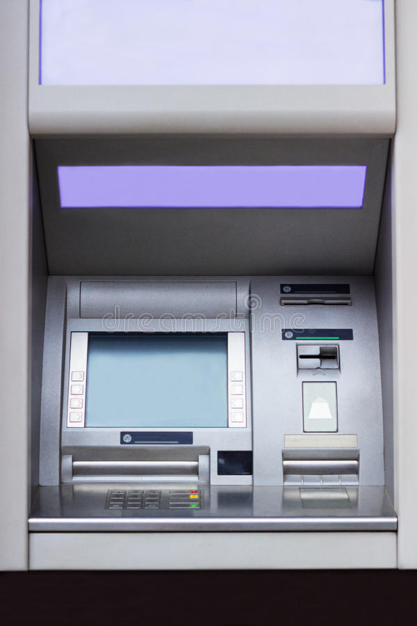 ATM. Cash machine - Automated Teller Machine stock images