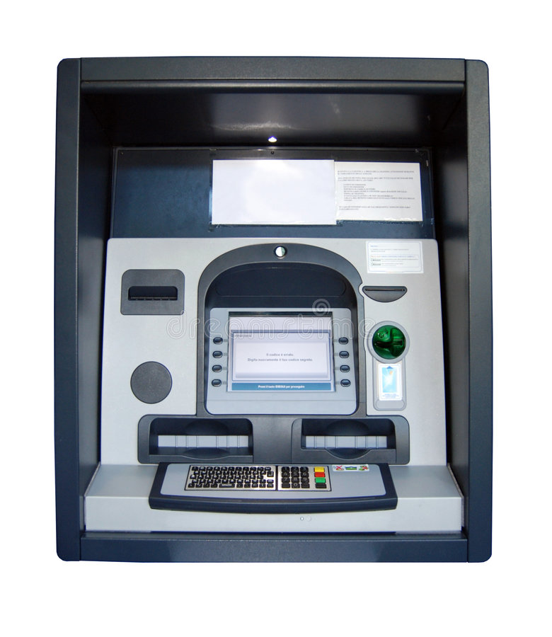 ATM - Cash Point Stock Photo
