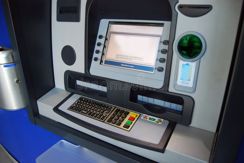 Download ATM - Cash point stock image. Image of technology, automatic - 6128315
