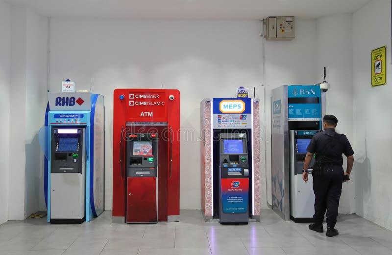 ATM-Geldautomat Kuala Lumpur Malaysia lizenzfreies stockbild