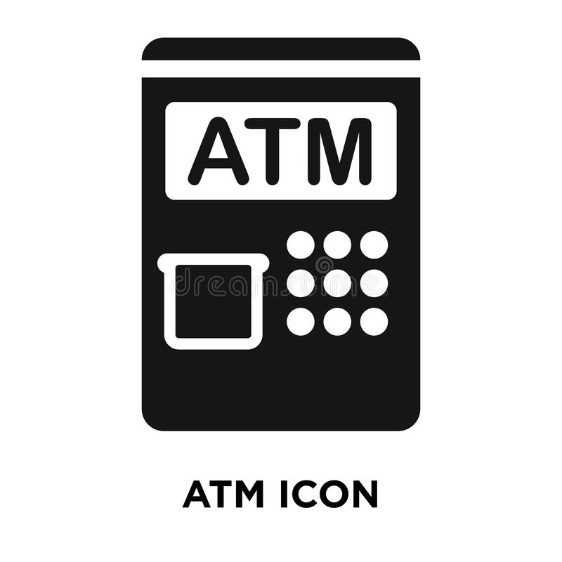 Free Atm Icon Vector Isolated On White Background, Logo Concept Of At Royalty Free Stock Image - 125791626