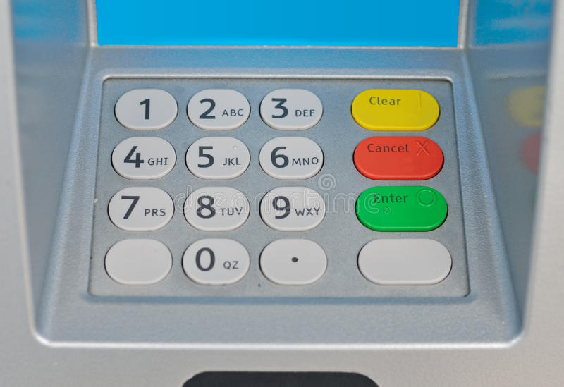 Download ATM keyboard stock photo. Image of dial, person, automatic - 26027118