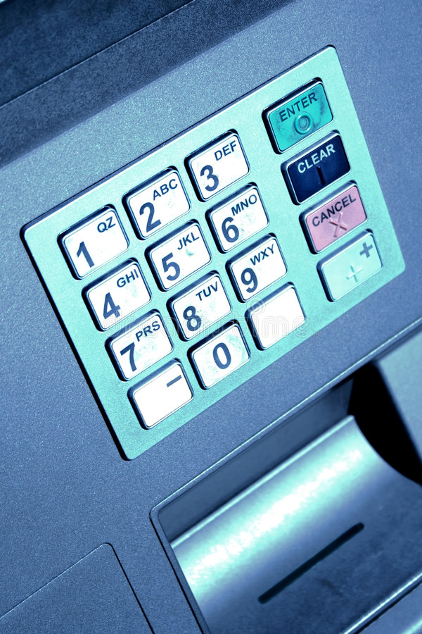 Download ATM Keypad Royalty Free Stock Images - Image: 4670099