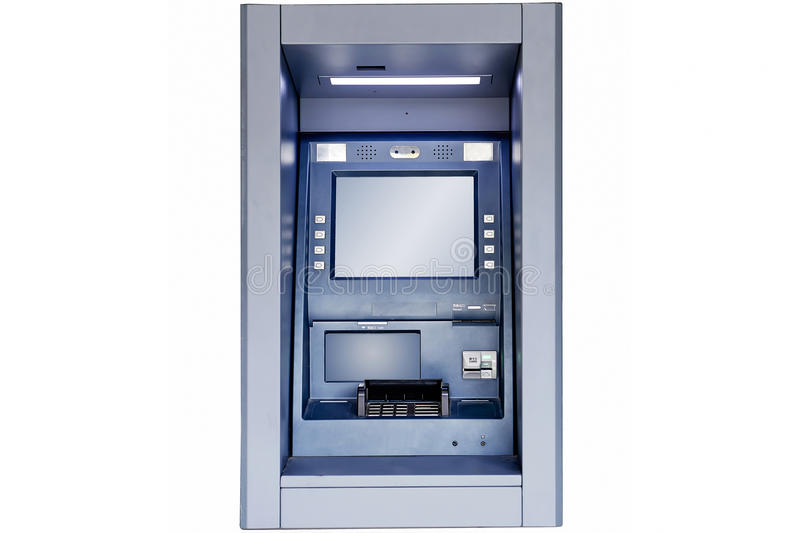 ATM-machine stock foto