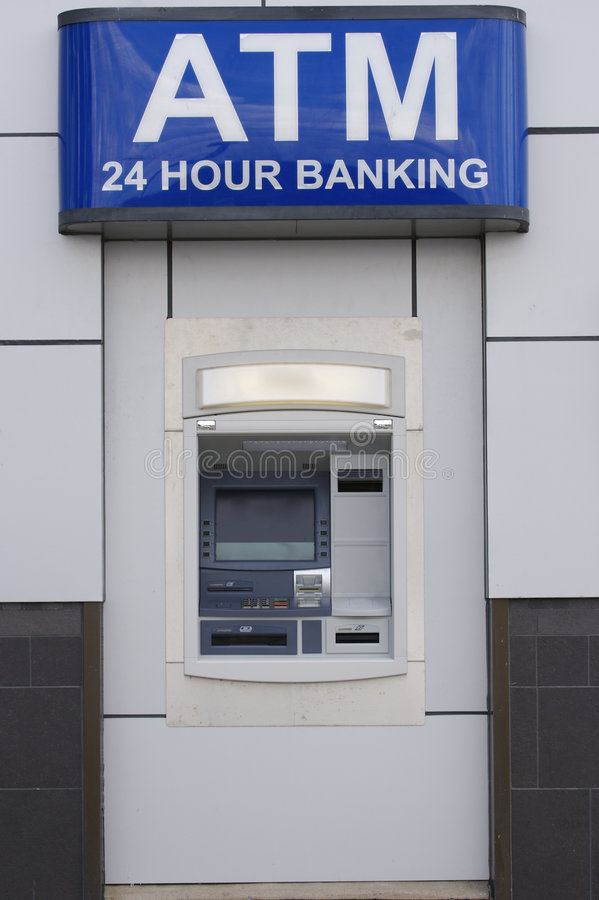 Free ATM Machine Royalty Free Stock Photography - 708377