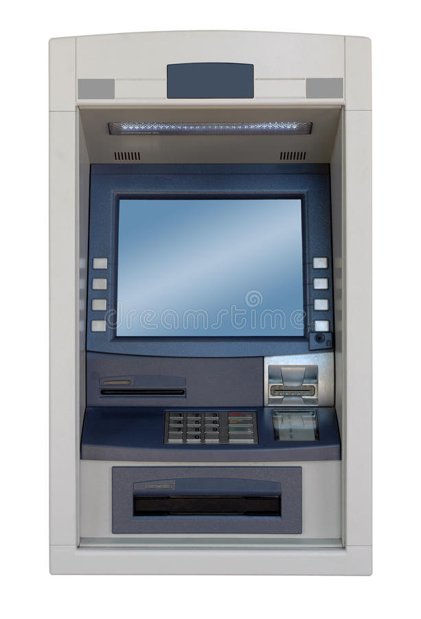 Free ATM Machine - Front View Royalty Free Stock Photos - 18509068