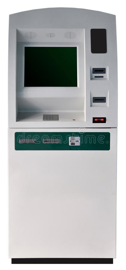 Download ATM machine isolated stock image. Image of debit, finance - 18445423