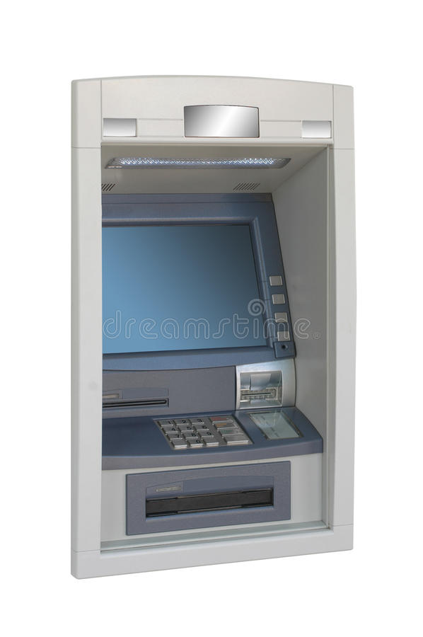 Download ATM machine -lateral view stock photo. Image of wealth - 18509072