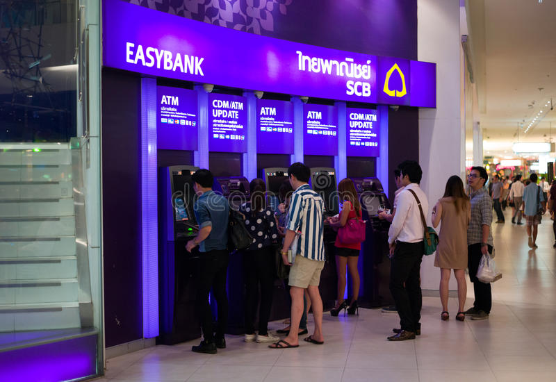 Download ATM Machines editorial photo. Image of thailand, shopping - 27145521