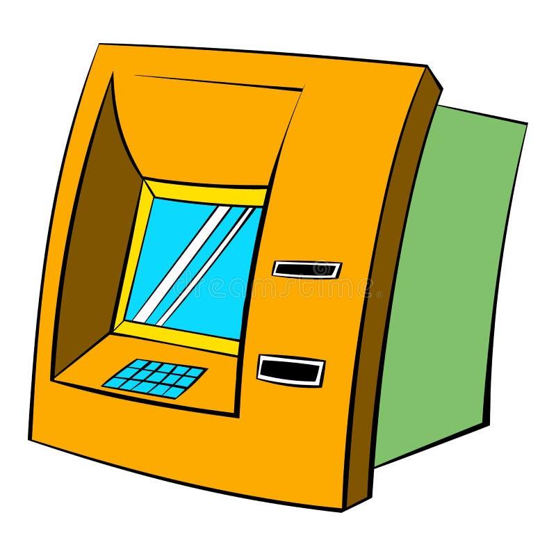 ATM-pictogrambeeldverhaal stock illustratie