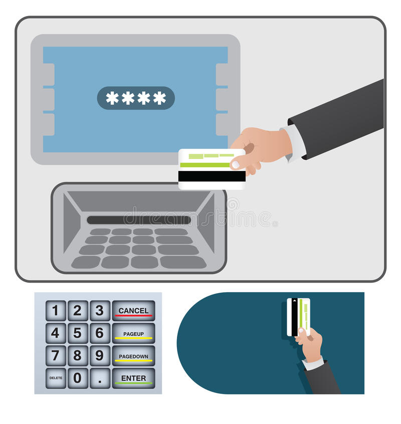 Download ATM Sign And Card Royalty Free Stock Image - Image: 24448926