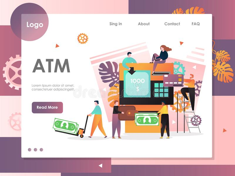 Atm Deposit Stock Illustrations – 4,049 Atm Deposit Stock