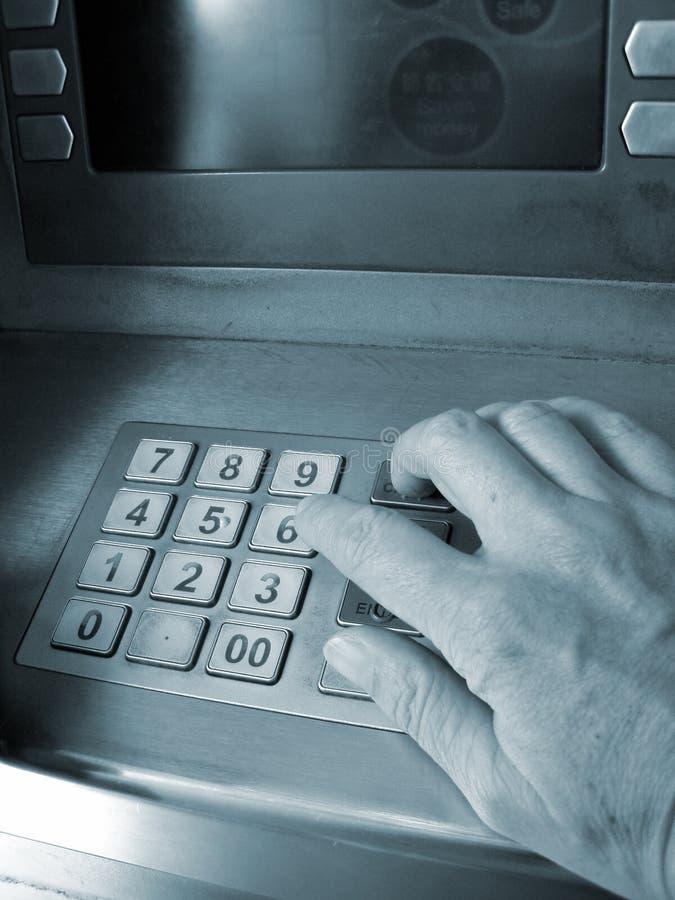 ATM-Zugriff Lizenzfreies Stockbild