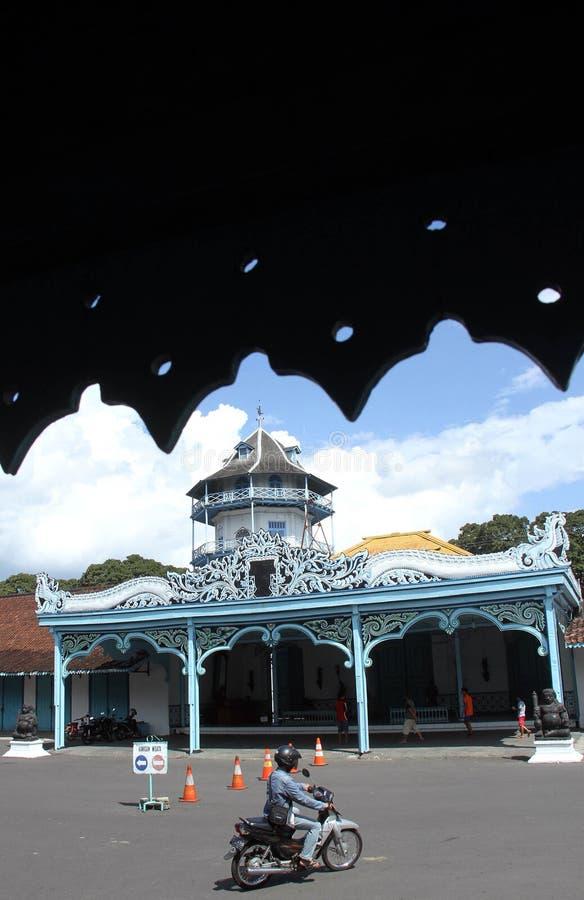 Atmosfärtrafikrusning Surakarta, centrala Java Indonesia arkivfoton