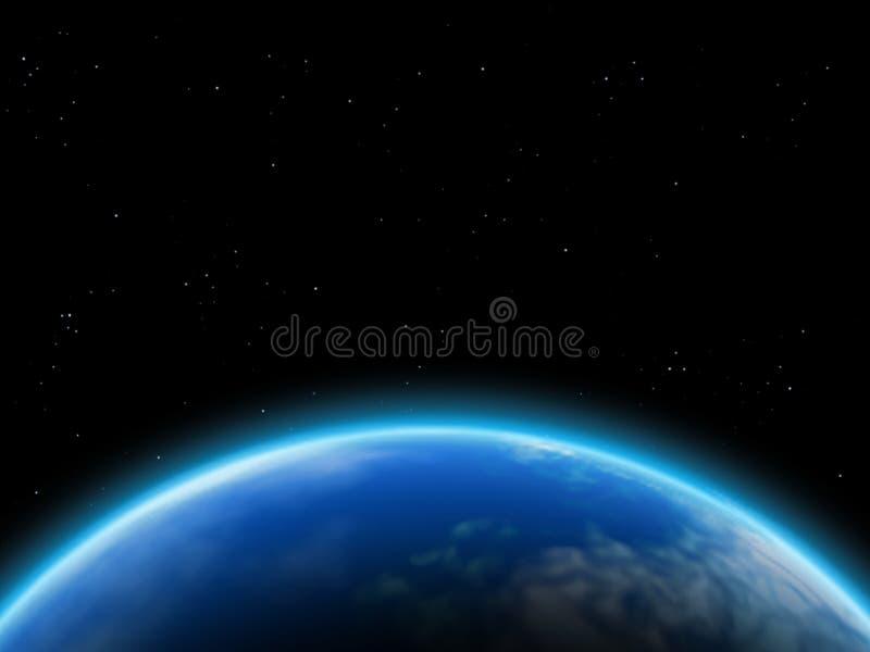 Atmosfeer stock afbeelding