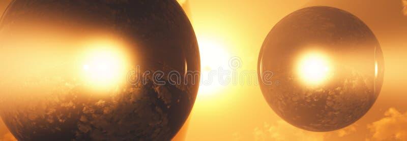 atmosfery diamentu sfery fotografia stock